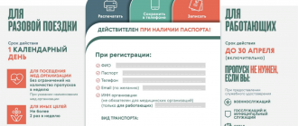 Пропуск на передвижение по Москве в карантин